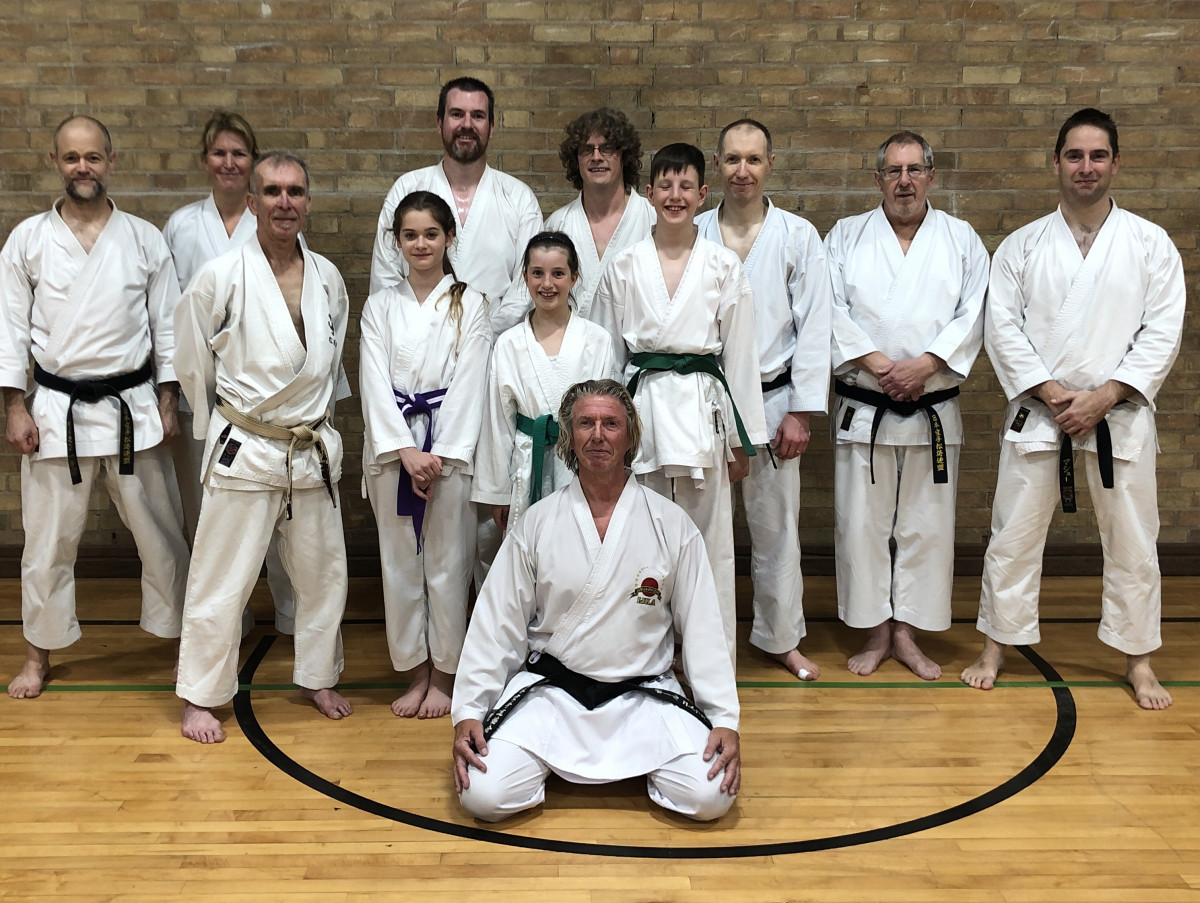 Paul Kotowski 6th Dan teaches at SSKC